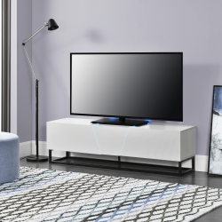 Comoda TV cu LED AANT-0331, 140 x 35 x 41 cm, MDF/metal
