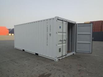 Container de transport de 20 de metri