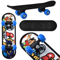 Mini skateboard - skateboard Motiv A Hippster, 44 x 13 x 10 cm