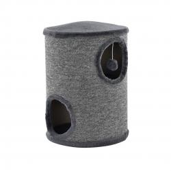 Mobilier pisici - Sisal pisici cilindru - 50 x 37 x 37cm - gri