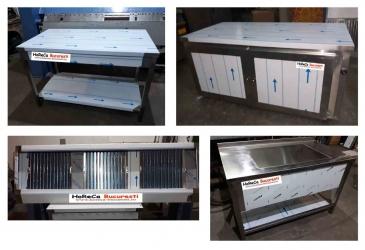 Producator mobilier inox hota inox spalator inox dulap inox