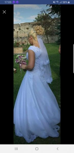 Rochie de mireasă model unicat-3