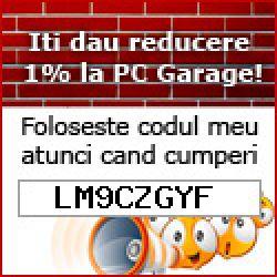 Voucher cupon reducere Pc Garage 2020: LM9CZGYF
