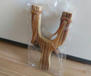 1Prastie noua din lemn cu elasticitate rapida în coarda
