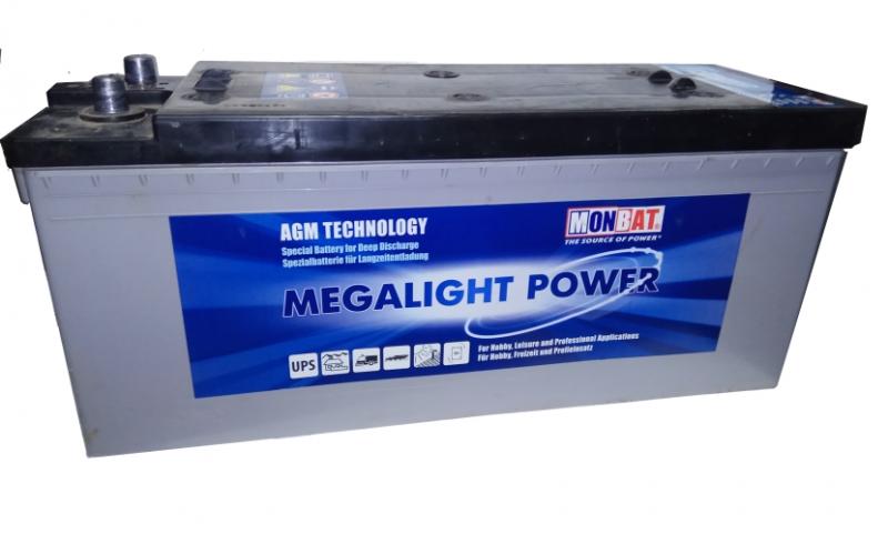 Acumulator solar AGM Monbat MEGALIGHT 12V/220Ah-1
