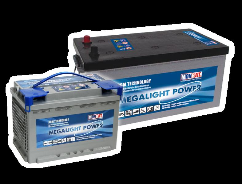 Acumulator solar AGM Monbat MEGALIGHT 12V/220Ah-3