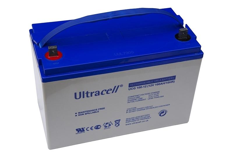 Acumulator VRLA Ultracell cu GEL 12V, 100Ah-1