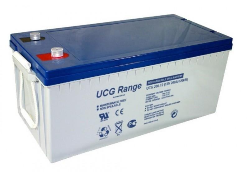 Acumulator VRLA Ultracell cu GEL 12V, 200Ah-2