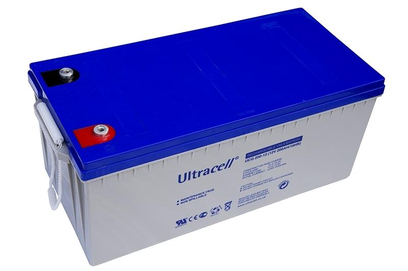 Acumulator VRLA Ultracell cu GEL 12V, 200Ah-3