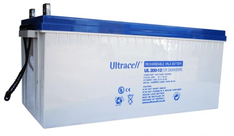 Acumulator VRLA Ultracell cu GEL 12V, 200Ah-4
