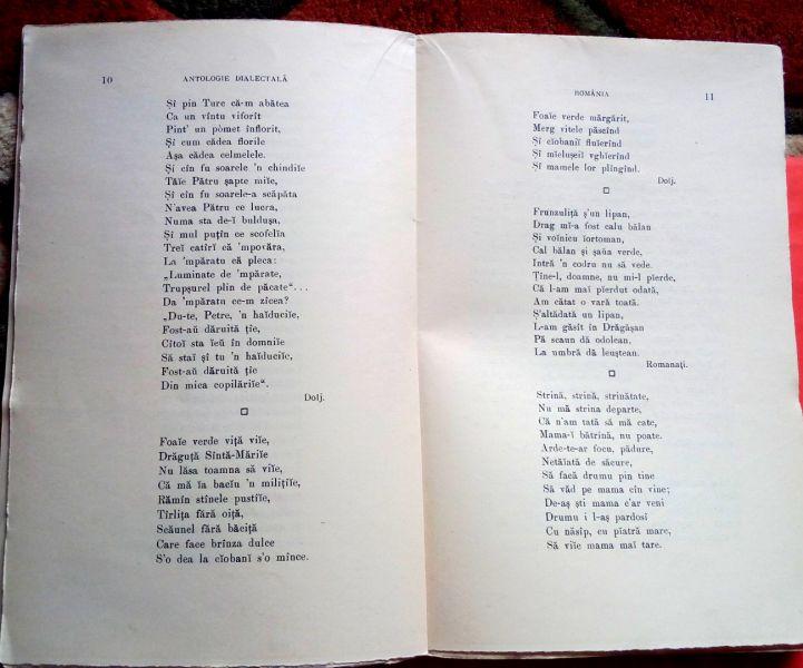 Antologie Dialectala, Ovid Densusianu, 1915-3