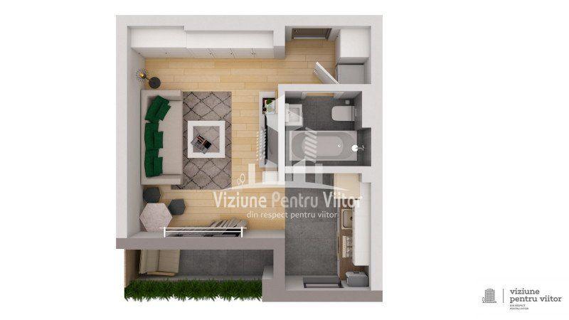 Apartament 1 camera -3