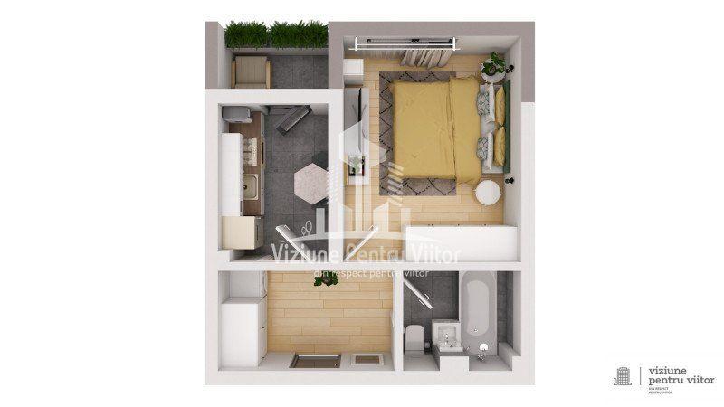 Apartament 1 camera -4