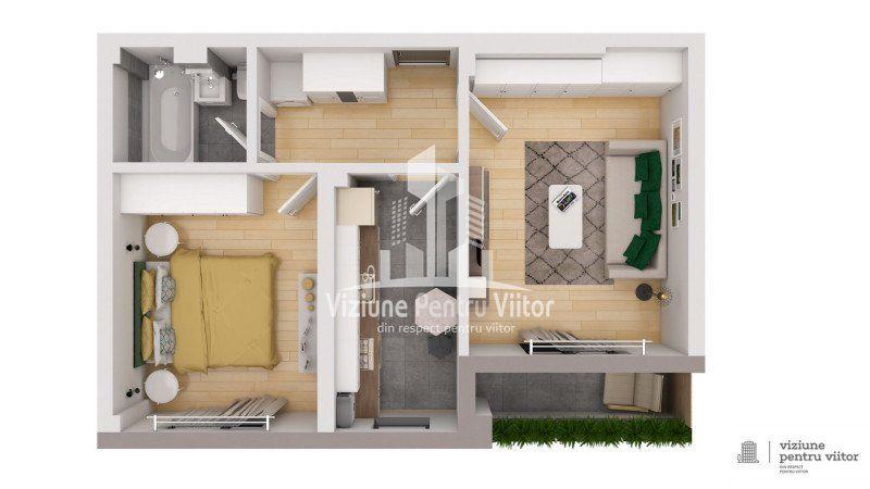 Apartament 1 camera -5
