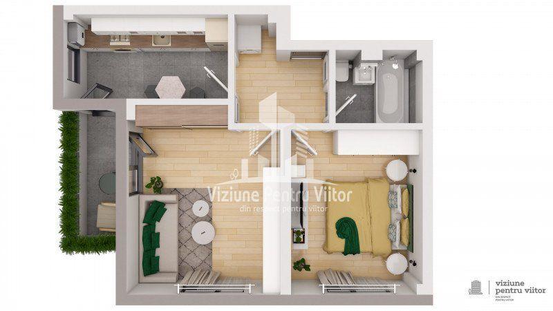 Apartament 1 camera -6
