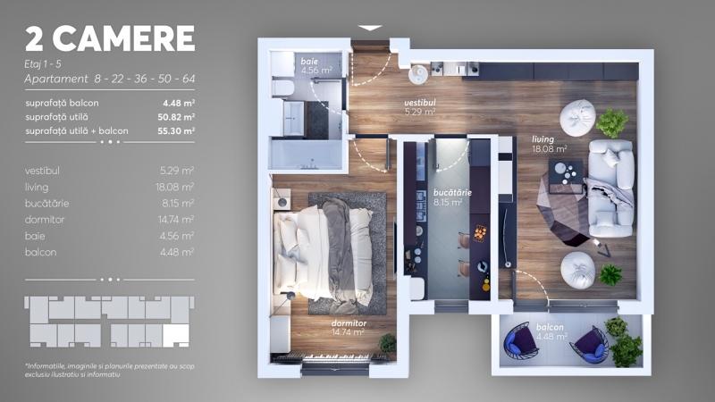 Apartament 2 camere Berceni Grand Arena-2