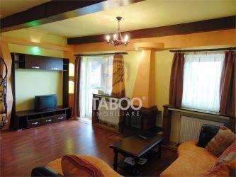 Apartament 3 camere 2 bai 2 balcoane mobilat si utilat Terezian Sibiu