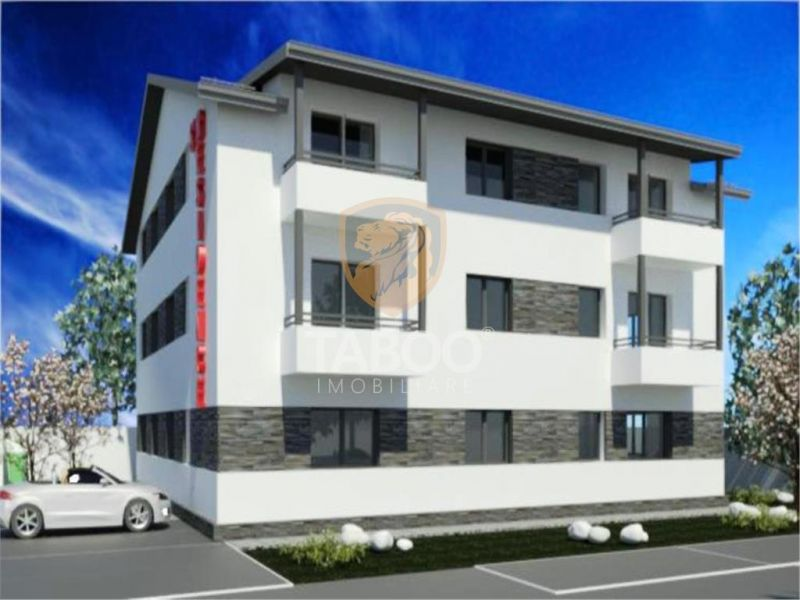 Apartament 3 camere 77 mp totali de vanzare in Sibiu comision 0%-1
