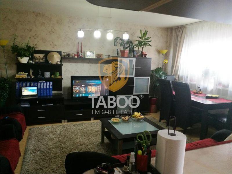 Apartament 4 camere 98 mp utili de vanzare in Sibiu zona Strand I-1
