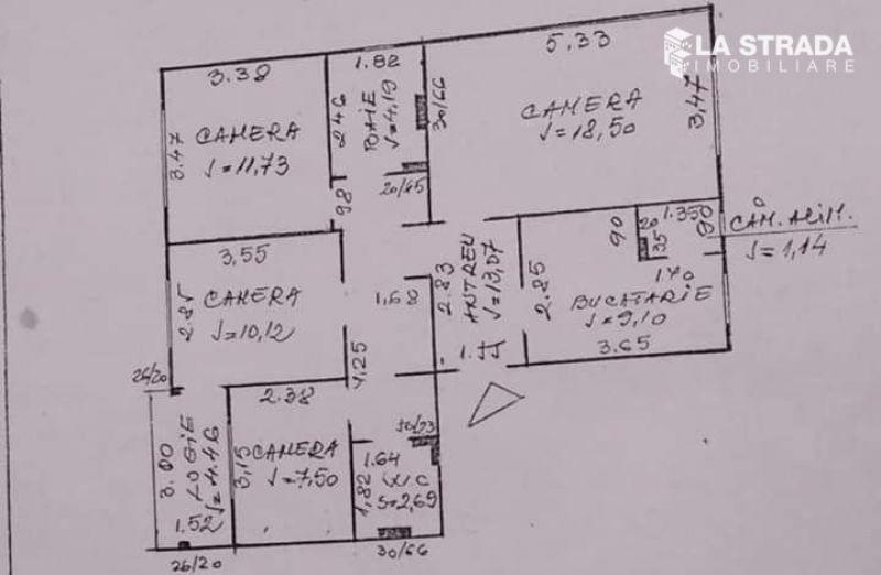 Apartament 4 camere dec, Calea Floresti-1