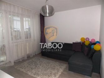 Apartament 79 mp totali 2 camere decomandate balcon in Sibiu Ciresica