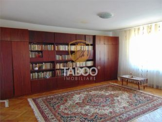Apartament 82 mp utili si balcon 3 camere decomandate etaj 2 Sibiu