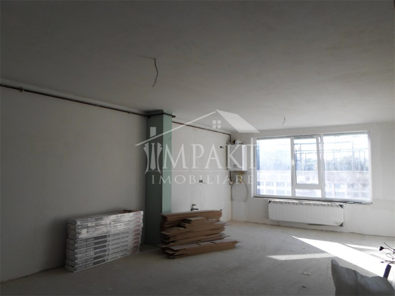 Apartament cu 2 camere+garaj semifinisat in Marasti-1