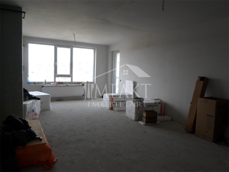 Apartament cu 2 camere+garaj semifinisat in Marasti-4