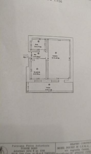 Apartament de lux cu 1 camera in COMPLEX TORONTO la 63.500 euro-1