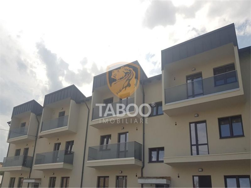 Apartament INTABULAT cu 3 camere 2 bai si 2 balcoane in Selimbar-1