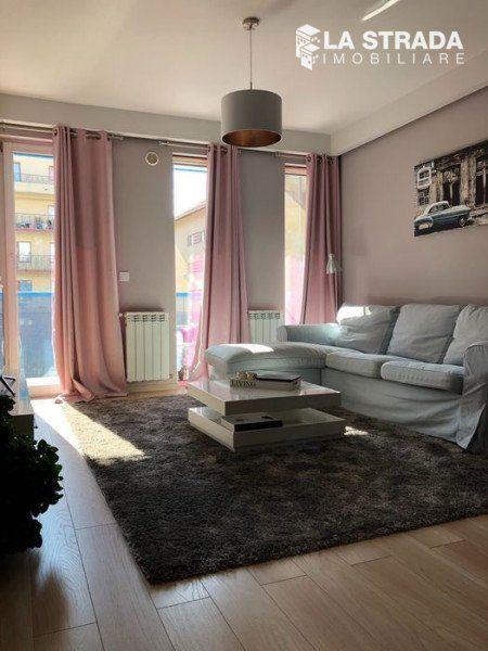 Apartament modern cu 2 cam si balcon - Andrei Muresanu-1