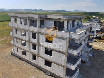 Apartament nou cu 3 camere decomandate de vanzare in Sebes