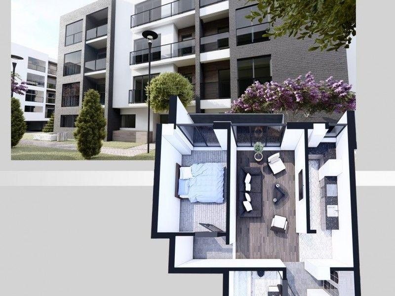 Apartament nou de vanzare, 2 camere Decomandat  Copou -1