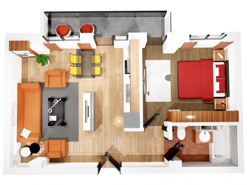Apartament nou de vanzare, 2 camere Decomandat  CUG -1