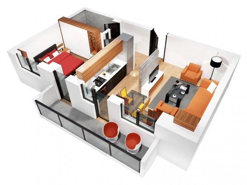 Apartament nou de vanzare, 2 camere Decomandat  CUG -2
