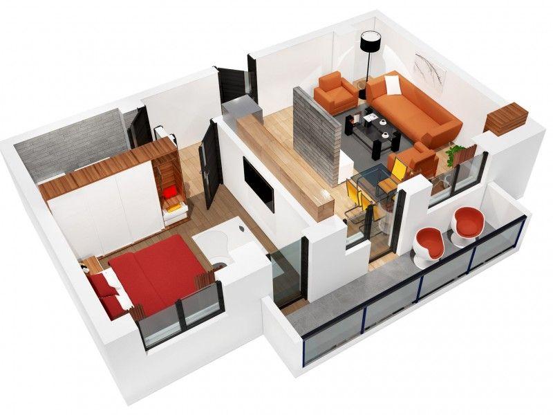 Apartament nou de vanzare, 2 camere Decomandat  CUG -3