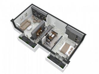 Apartament nou de vanzare, 2 camere Decomandat  Pacurari