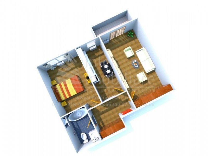 Apartament nou de vanzare, 2 camere Decomandat  Poitiers -1
