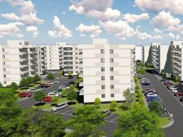 Apartament nou de vanzare, 2 camere Decomandat  Poitiers