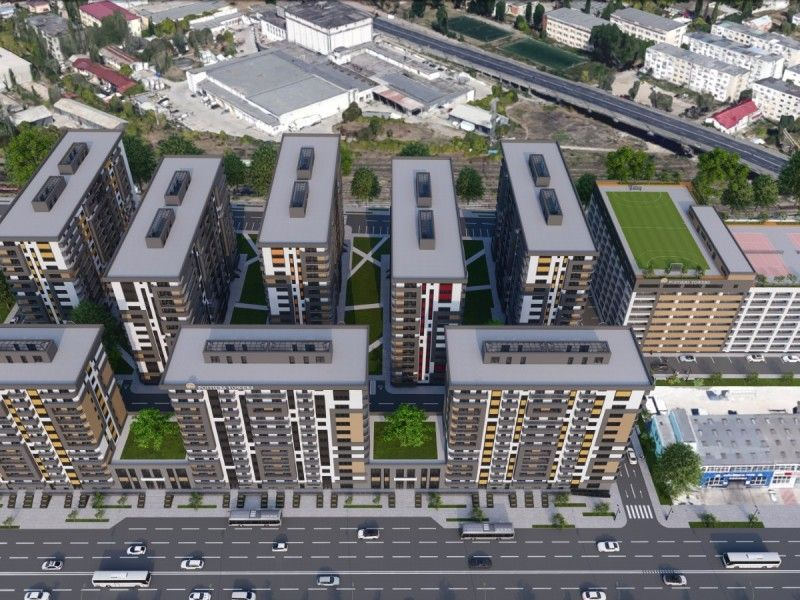 Apartament nou de vanzare, 2 camere Decomandat  Poitiers -7