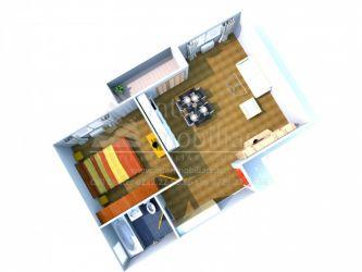 Apartament nou de vanzare, 2 camere Semidecomandat  Nicolina