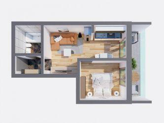 Apartament nou de vanzare, 2 camere Semidecomandat  Pacurari