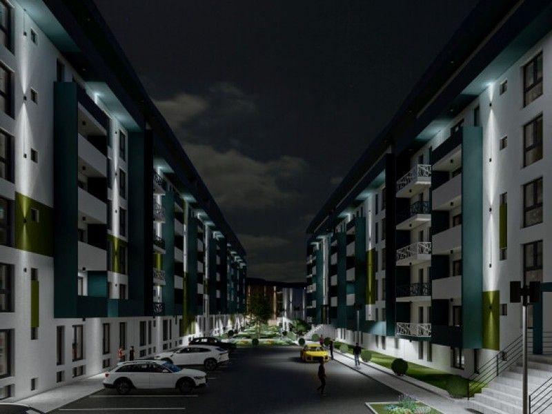 Apartament nou de vanzare, 2 camere Semidecomandat  Pacurari -8