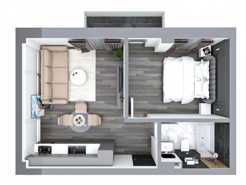 Apartament nou de vanzare, 2 camere Semidecomandat  Pacurari -9