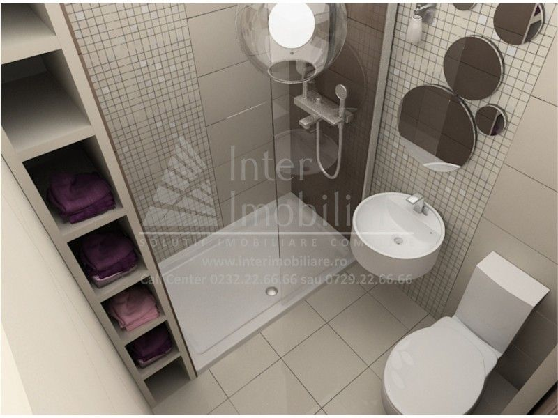 Apartament nou de vanzare, 3 camere Decomandat  Bucium -4