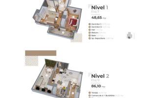 Apartament nou de vanzare, 3 camere Decomandat  Centru Civic