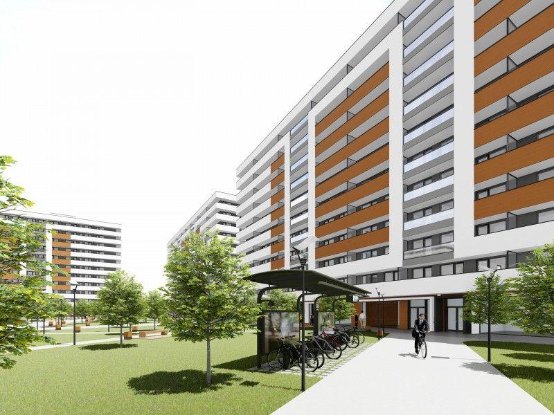 Apartament nou de vanzare, 3 camere Decomandat  Copou -8