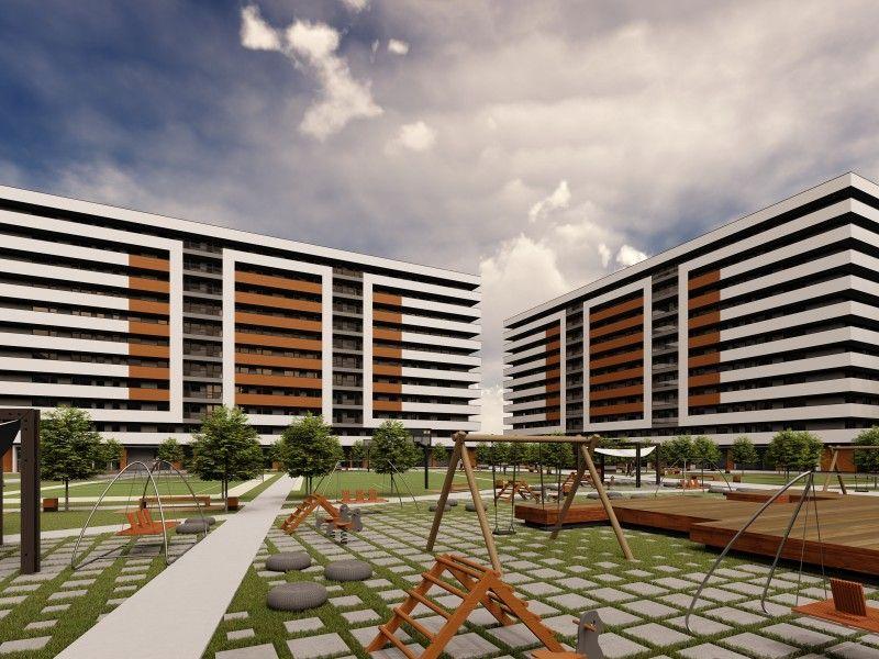 Apartament nou de vanzare, 3 camere Decomandat  Copou -11