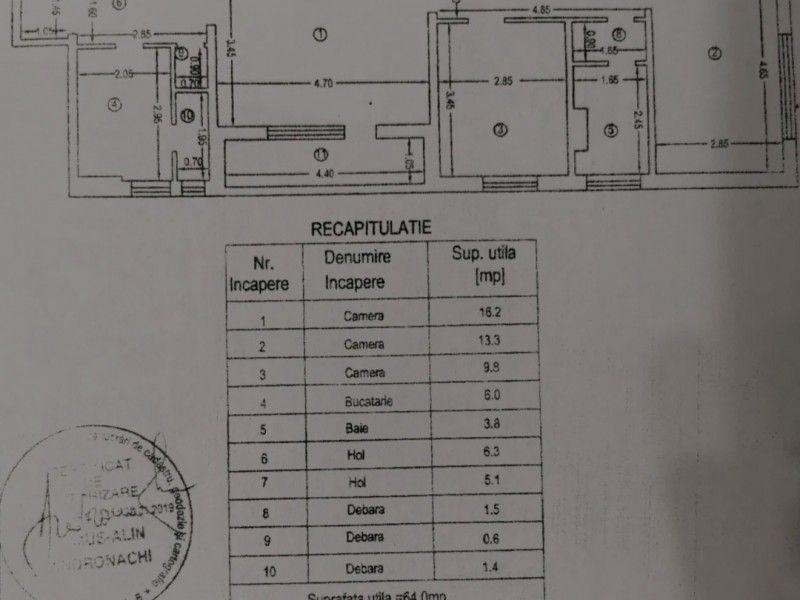 Apartament nou de vanzare, 3 camere Semidecomandat  Tatarasi -5