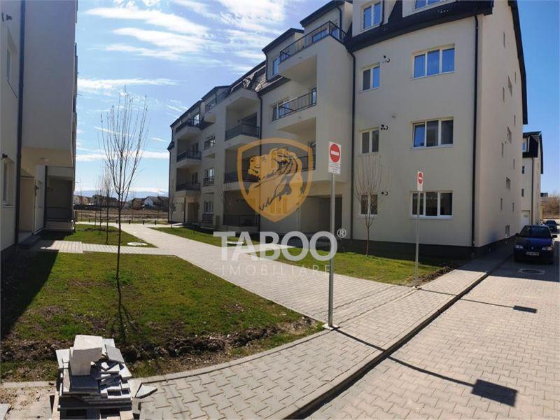 Apartament nou de vanzare la cheie mobilat utilat etaj 2 din 3 Sibiu-1